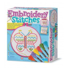4M Easy To Make Embroidery Stitches