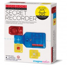 4M Logiblocs Secret Recorder 12+ projects