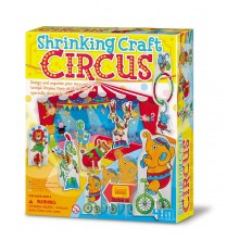 4M Make Your Own Shrinking Craft Circus