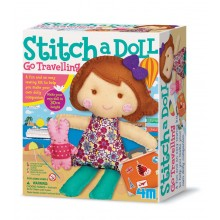 4M Stitch a Doll - Go Travelling