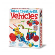 4M Tubee Creative Vehicles Kit