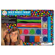 Bead Bazaar Wild Wrist Wrap Friendship Bracelet Kit