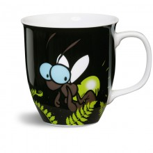 NICI Blue Glow in the Dark Firefly Mug