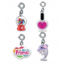 Charm It! Gumball Machine, Nail Polish, Friends Heart and Dolphin Charm Set