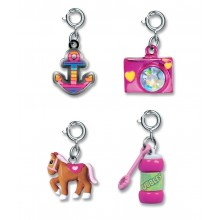 Charm It! Bubbles, Camera, Pony and Rainbow Anchor Charm Set