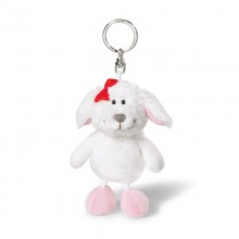 NICI Dog Loulou Bean Bag Keyring