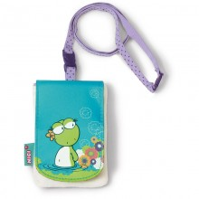 NICI Frog Girl Mobile Phone Bag