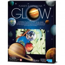 4M Glow in the Dark Planets and Supernova 100pcs
