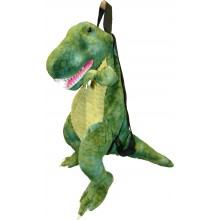 Great Gizmos Backpack T-Rex Dinosaur Green
