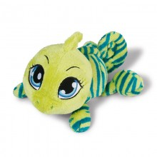 NICI Green Chameleon lying 35cm