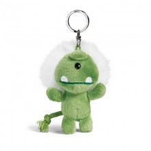 NICI Green Monster Bean Bag Keyring