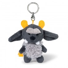 NICI Grey Monster Bean Bag keyring