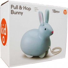 Kid O Pull and Hop Bunny