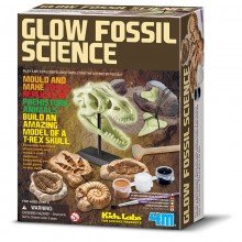 4M Kidz Labs Glow Fossil Science