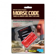 4M Kidz Labz Morse Code Torch and Shutter Card