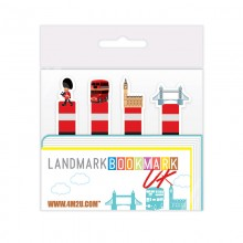 4M2U UK London Theme Bookmarks