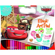 Magic Sticky Art Pad - Disney Cars