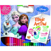 Magic Sticky Art Pad - Frozen