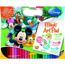 Magic Sticky Art Pad - Disney Mickey Mouse
