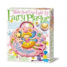 4M Make Your Own Light-up Fairy Plaque