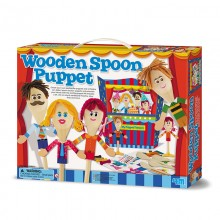 4M Make Your Own Wooden Spoon Puppets