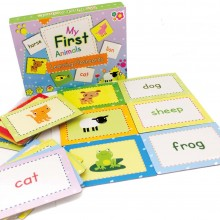 Meadow Kids First Words Flash Cards - Animals