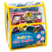 Meadow Kids Build Your Own Fire Engine Bath Toy - Small