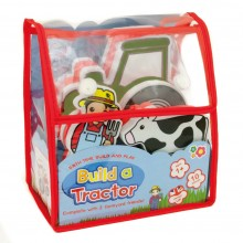 Meadow Kids Build Your Own Tractor Bath Toy - Small