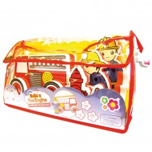 Meadow Kids Build a Fire Engine Bath Toy