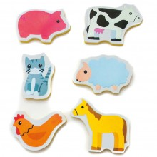Meadow Kids Cute Creatures Bath Stickers