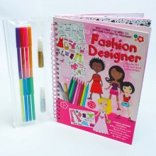 Meadow Kids Fashion Designer Activity Book