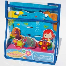 Meadow Kids Mermaid Floating Activity Bath Set