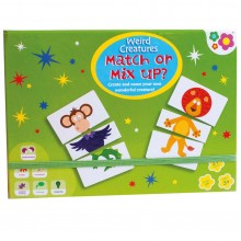 Meadow Kids Mix and Match Weird Creatures