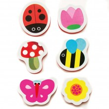 Meadow Kids Secret Garden Bath Stickers
