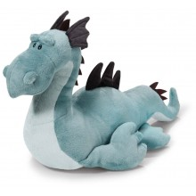 NICI Blue Sea Monster Soft Toy lying 40cm