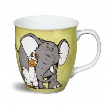 NICI Elephant, Llama and Bird Mug