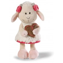 NICI Gretel Goat Girl Soft Toy 25cm with Gingerbread