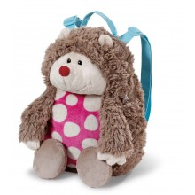 NICI Harriet Hedgehog Plush Backpack