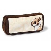 NICI Meerkat Gold Pencil Case