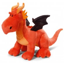 NICI Red and Black Dragon Soft Toy standing 50cm
