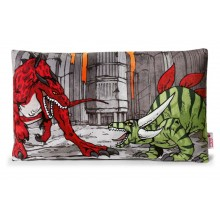 NICI Red and Green Creature Cushion