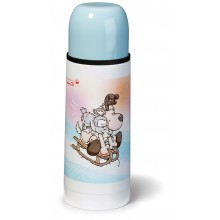 NICI Reindeer and Snowy Owl Thermosflask 350ml
