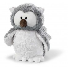NICI Snowy Owl Plush Money Bank
