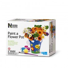 Natural History Museum Paint Your Own Flower Pot