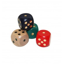 Extra Large Dice 4 Pack Assorted Colours