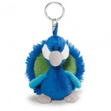 NICI Peacock Bean Bag Keyring