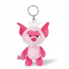 NICI Pink Monster Bean Bag Keyring