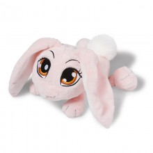 NICI Pink Rabbit lying 25cm