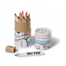 NICI Polar Bear and Seal Pencil Box