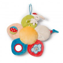 NICI Rabbit and Flower Activity Toy